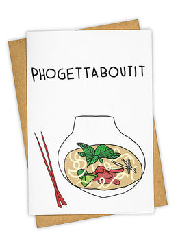 Phogettaboutit Greeting Card