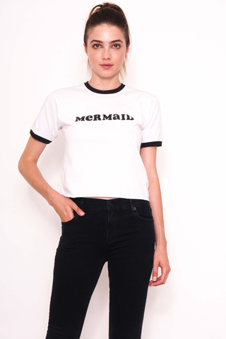 Mermaid Ringer Tee