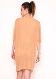 Zeitgeist Dress in Nude