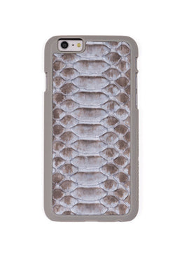 Tonal Grey Python Phone Case