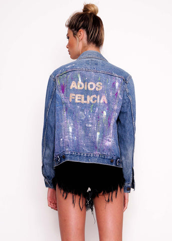 Gold Adios Vintage Jacket