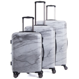 Astyll 3-Piece Luggage Set in Milk Marble