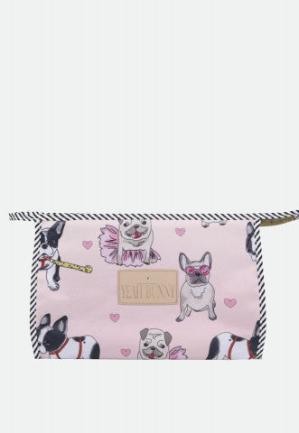 Doggie Lover Makeup Bag