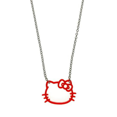 Hello Kitty Silhouette Necklace