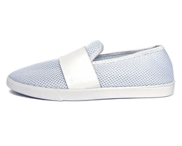 Barton Slip On in All White