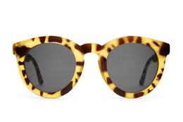 The TV Eye Sunglasses in Gloss Jungle Tortoise
