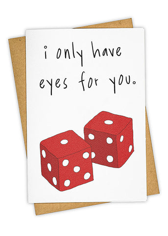 Eyes Only For You Card