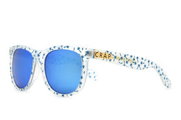 The Beach Party Sunglasses in Matte Translucent View 2