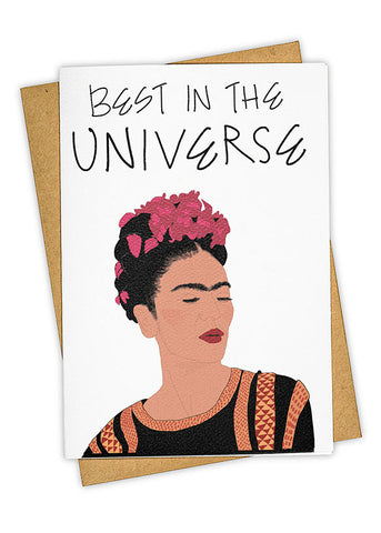 T.G.I.FRIDA Greeting Card