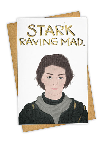 Stark Attack Greeting Card