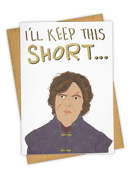 Shorty Wanna Ride Greeting Card