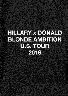 Donald X Hillary Sweatshirt View 2