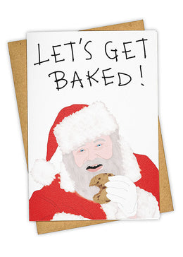 Get Baked Greeting Card