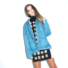 The Alfie Western Denim Jacket
