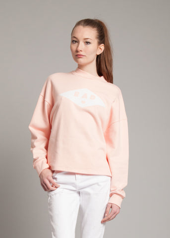 Bad Sweatshirt in Light Pink
