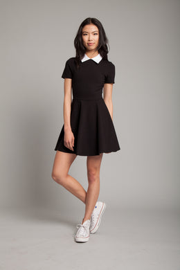 Addams Mini Dress In Black