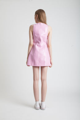 Angelique Dress in Pink View 2