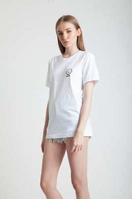 Nope Tee in White View 2