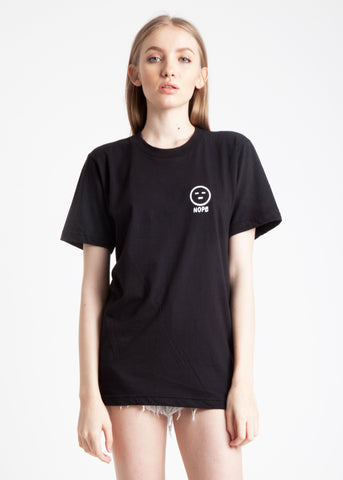 Nope Tee in Black