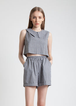 Gingham Box Top