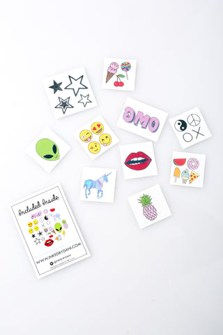 The Trendy Pack Temporary Tattoos