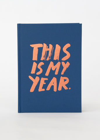 Navy/Rose Gold Hardcover 2016