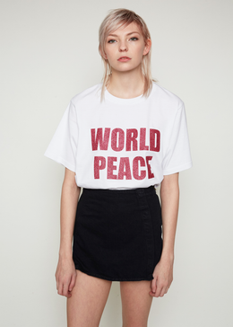 World Peace Oversized Tee