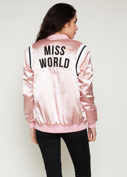 Miss World Satin Jacket