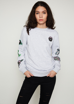 Space Badge Sweater