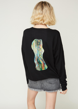 """Sacred Seductress"" Unisex Fleece Sweatshirt"