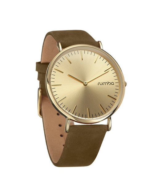 Soho Suede Olive Watch