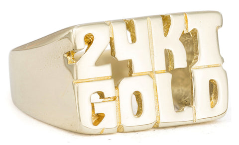 24 KT Gold Ring