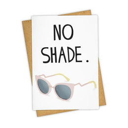 No Shade Card