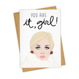 You Are It Girl Card
