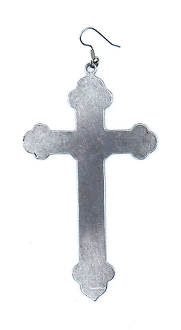 Single Cross Earring