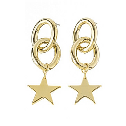 Dream Earrings in Gold