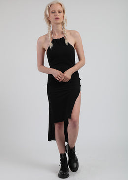 Tether Dress In Black