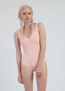 The Heron One Piece Swimsuit in Pink