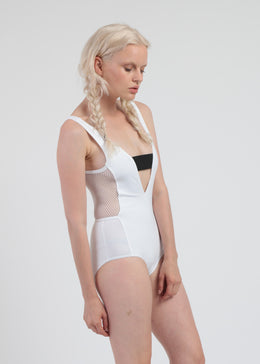 Axis One Piece in White