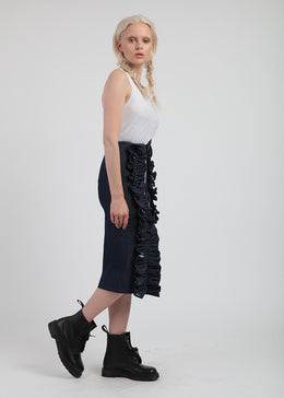 Double Ruffle Trim Skirt View 2