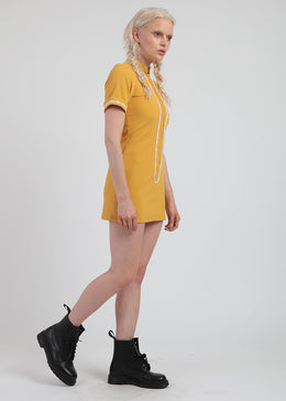 Mustard Mod Dress View 2