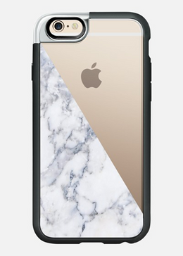 iPhone 6/6S Case in Marble Side