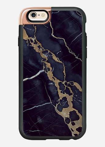 iPhone 6/6S Case in Navy Shatter Marble