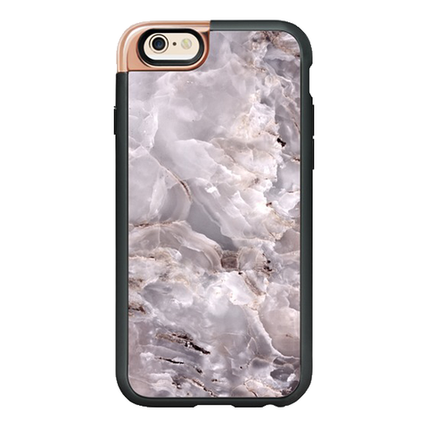 iPhone 6/6S Case in Grey Purple Marble
