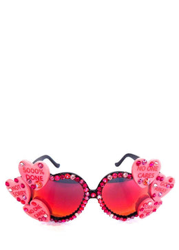Acid Lolita Heart Sunglasses