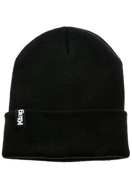 Black Everyday Beanie