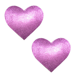 Badass Barbie Glitter Heart Pasties