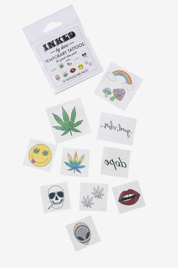 The Good Vibes Pack Temporary Tattoos