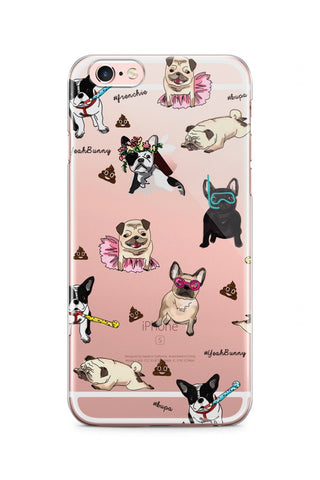 iPhone case Dogs Attack
