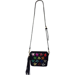 Young Americans Shoulder Bag in Black View 2